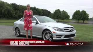 2012 Mercedes-Benz C250 Coupe Test Drive&Car Review With Emme Hall By RoadflyTV