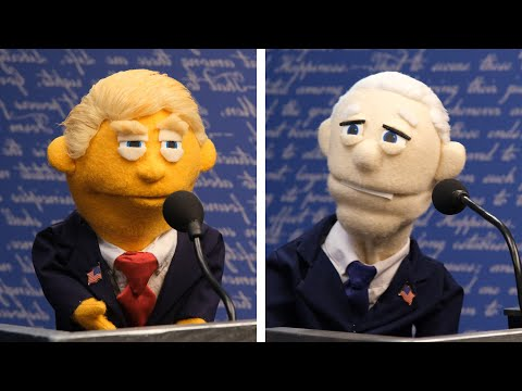 Puppet Presidential Debate | Awkward Puppets