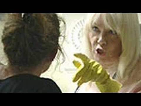 EastEnders - Pauline Fowler Slaps Lisa Fowler (19th March 2002)