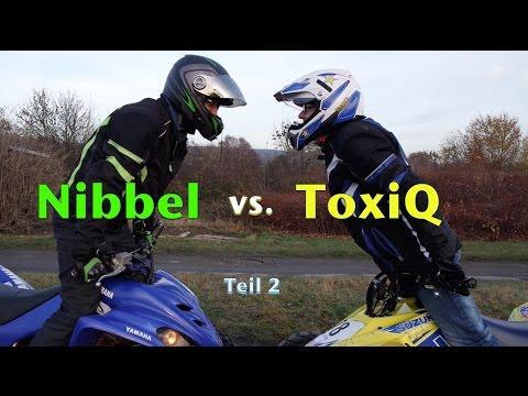 Nibbel vs ToxiQ / Vergleich Yamaha YFM 350 vs Suzuki LTZ 400  / ToxiQtime 26