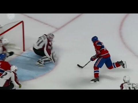 goal - PK Subban Amazing Goal vs Colorado Avalanche 3-1 (10/18/14) Pk Subban Goal vs Colorado avalanche vs Montreal Canadiens NHL Hockey Subban 2nd goal of the night.