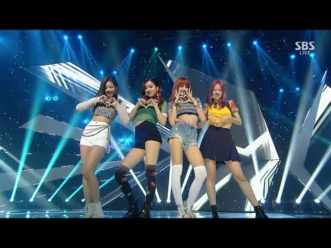 BLACKPINK - '마지막처럼 (AS IF IT'S YOUR LAST) Remix ver.' 0723 SBS Inkigayo - Thời lượng: 3:32.