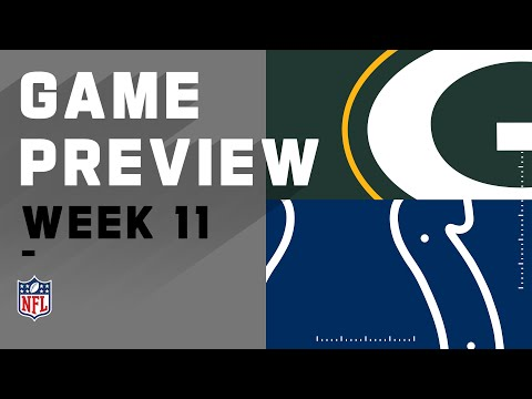 Green Bay Packers vs. Indianapolis Colts | NFL Week 11 Game Preivew