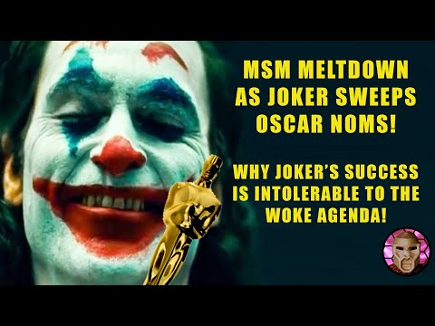 Joker Oscar Nominations Drive the Media Insane | Why Joker Attacks The MSM Agenda! видео