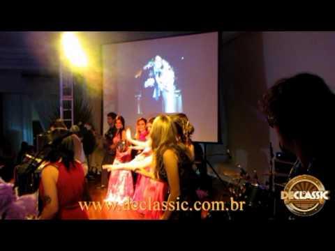 Show das Poderosas-Banda Declassic-Casamento em Marau RS Out 2013