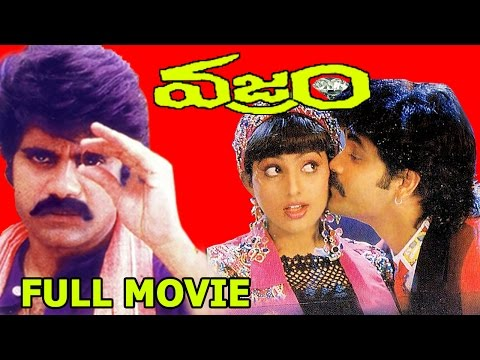 Vajram Telugu HD Full Movie - Nagarjuna, Roja, K. Vishwanath, Indraja - V9 Videos
