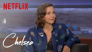 Video Maggie Gyllenhaal on Playing a Prostitute in 'The Deuce' (Full Interview) | Chelsea | Netflix MP3, 3GP, MP4, WEBM, AVI, FLV Oktober 2018