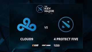 Cloud 9 vs 4 Protect Five, The Kiev Major EU Main Qualifiers