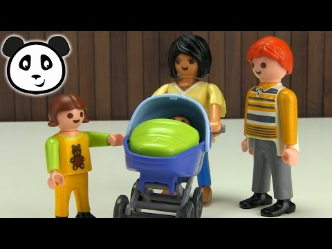⭕ PLAYMOBIL Kinderwagen - Spielzeug ausgepackt&angespielt - Pandido TV
