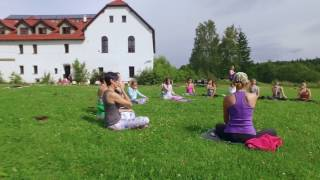 Ashtanga yoga retreat - Antoniow 2016