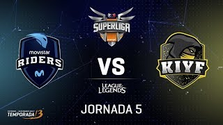 SUPERLIGA ORANGE - MOVISTAR RIDERS VS KIYF - Mapa 1 - #SUPERLIGAORANGELOL5