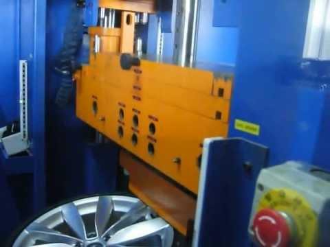 Тест литых дисков WSP Italy W457 Rostock на удар спицы (Volkswagen)