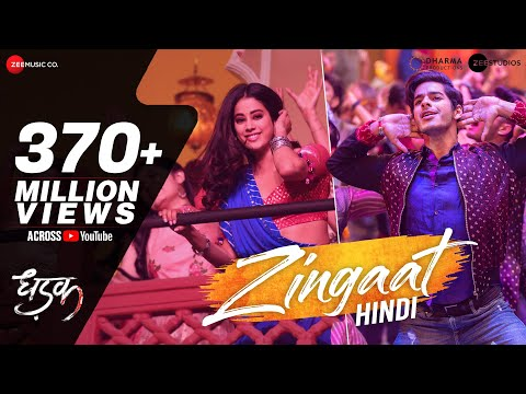 Download Zingaat Hindi | Dhadak | Ishaan & Janhvi | Ajay-Atul | Amitabh Bhattacharya HD Mp4 3GP Video and MP3