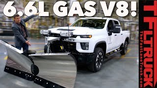 Here is How the 2020 Chevy Silverado 2500 HD Delivers the Torque to the Ground by The Fast Lane Truck