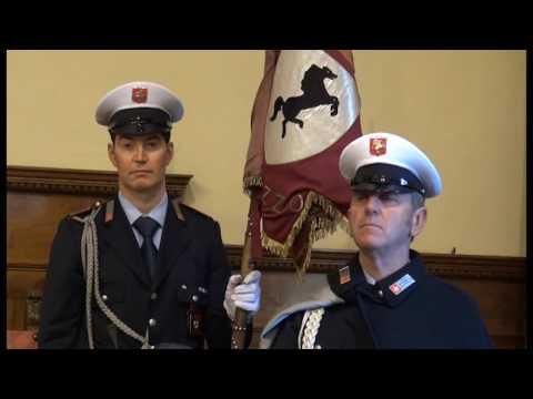 Polizia municipale: cerimonia di consegna degli encomi