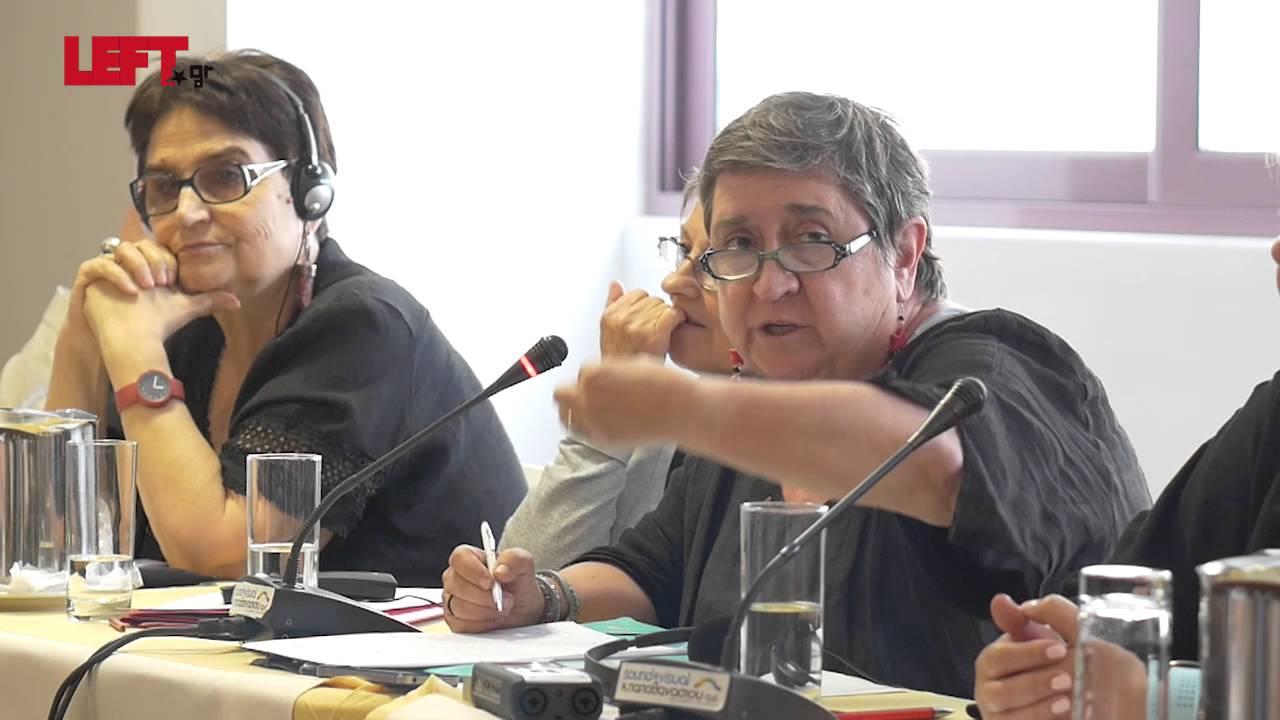 Η θέση των γυναικών στα αριστερά κόμματα -Μαϊτέ Μόλα (PCE-IU), Ισπανία