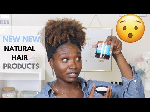 New hairstyle - NEW NEW Natural Hair Products