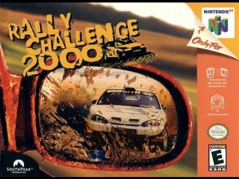 Rally Challenge 2000 Nintendo 64