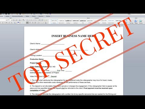 How to Write a Filmmaking Contract - WATCH THIS NOW | Momentum Productions
