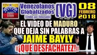 Download Lagu (8/2/2018) – El VIDEO de MADURO que deja sin palabras a JAIME BAYLY - «¡QUÉ DESFACHATEZ!» - (VG) Mp3