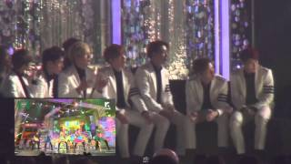 Video [Fancam] 151107 MONSTA X (몬스타엑스) REACTION RED VELVET (레드벨벳) - DUMB DUMB @ MELON MUSIC AWARDS 2015 MP3, 3GP, MP4, WEBM, AVI, FLV Juli 2018
