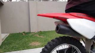 8. Honda CRF100F Without Baffle (Before and After)