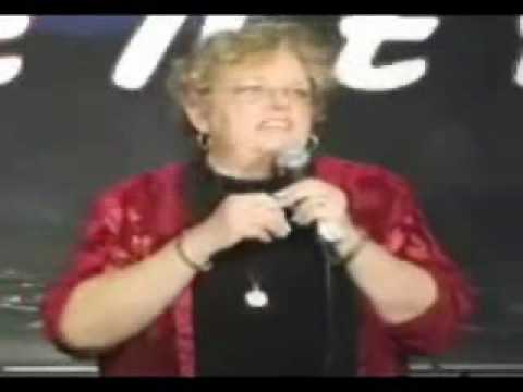Hilarious Grandma Stand Up Comedienne