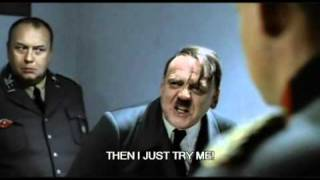 Hitler Wants Some Private Time With A Magazine!