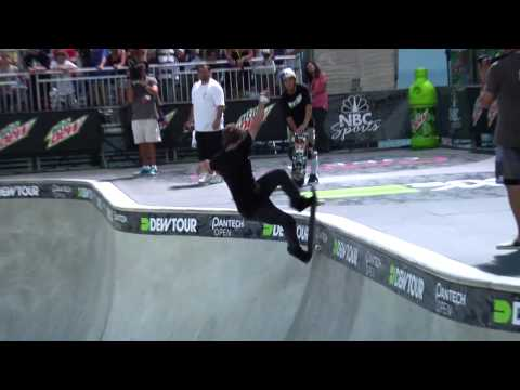 Dew Tour - Ocean City Skateboard Bowl Highlights - Pedro Barros, Bucky Lasek, Nolan Munroe & More