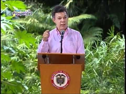 Palabras del Presidente Juan Manuel Santos al instalar el Acuerdo para la Prosperidad en Medellín