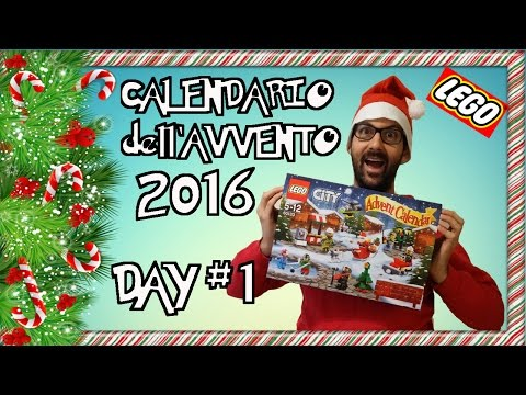 CALENDARIO dell'AVVENTO LEGO CITY 2016 - DAY 1 - Lego 60133