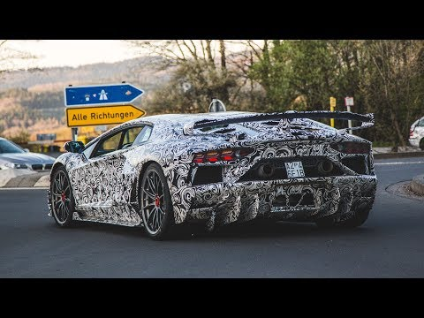AVENTADOR SVJ TO DESTROY GT2 RS RING LAP RECORD?