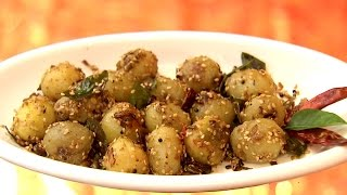 Sesame Aalu & Chicken koorka paal curry Recipe 1.Sesame Aalu Recipe Ingredients. Baby potato White sesame curry leaves Chopped onion Chopped green chilly Gar...