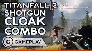 Titanfall 2 Shotgun and Cloak Combo Pre Alpha Gameplay by GameSpot