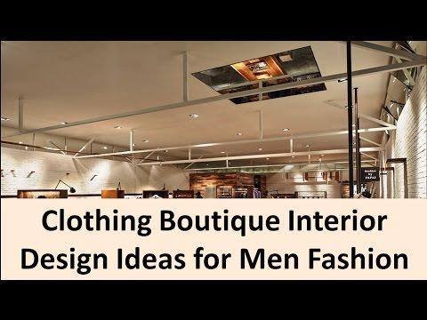 Clothing Boutique Interior Design Ideas for Men Fashion