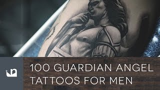 Video 100 Guardian Angel Tattoos For Men MP3, 3GP, MP4, WEBM, AVI, FLV Juni 2018
