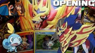 WE STRUCK GOLD! Opening Another Sobble Galar Collection Box of Pokemon Cards! by Flammable Lizard