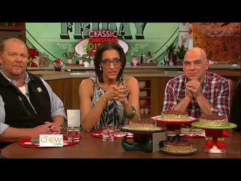 The Chew Talks About Fruitcake