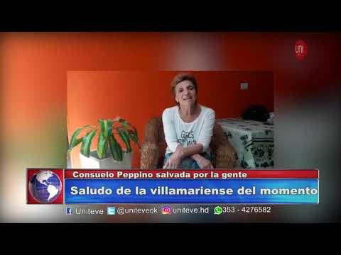 El saludo de Consuelo Peppino