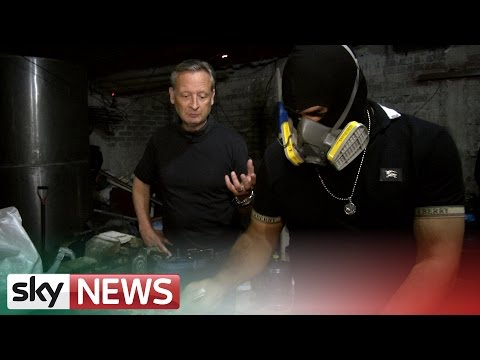 Inside Crack Cocaine Factory | Narco State | Sky News