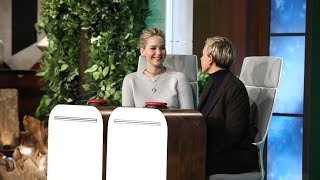 Video Jennifer Lawrence Answers Ellen's 'Burning Questions' MP3, 3GP, MP4, WEBM, AVI, FLV Juni 2018