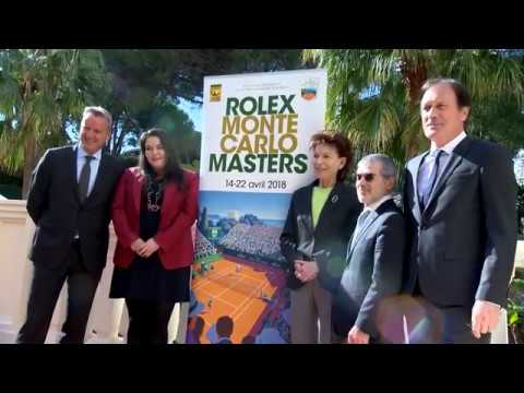 Tennis: Presentation of the 112th Rolex Monte-Carlo Masters