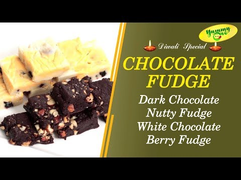 Diwali Special | How to Make Chocolate Fudge | YummyOne