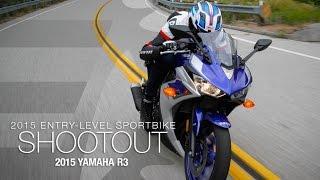 9. 2015 Yamaha R3 - Entry Sport Shootout Pt 5 - MotoUSA