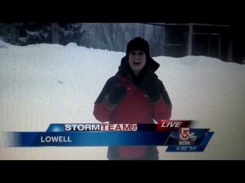 WATCH: Winter Storm News Blooper
