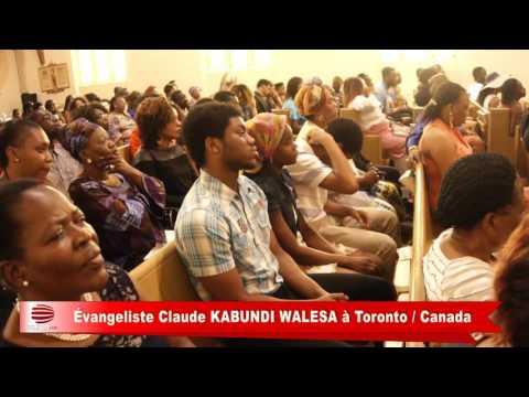 TÉLÉ 24 LIVE: Dernière convention choc de l'évangéliste Claude Kabundi Walesa à Toronto