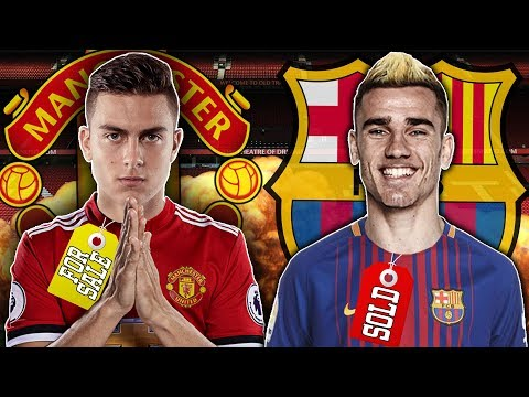 Video: Manchester United Ready To Spend £200M On Paulo Dybala After Griezmann Snub! | Transfer Talk