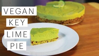 Key Lime Pie Recipe (Raw Vegan) | The Edgy Veg