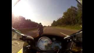 7. 2012 BMW K1300S HP: cruising on the highway