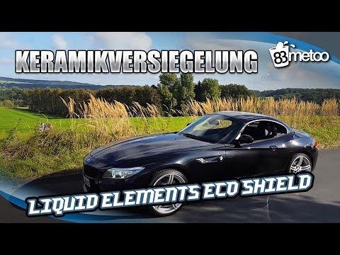 Keramikversiegelung Liquid Elements Eco Shield - Autoaufbereitung Teil 4 - 30.000 Abonnenten Special